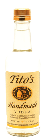 Tito's Handmade Vodka 375ml