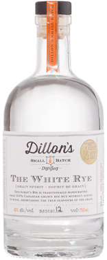Dillon's White Rye Whisky 750ml