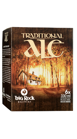 Big Rock Traditional Ale 6 x330ml