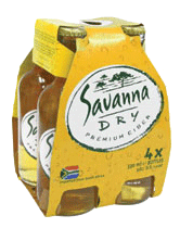 Savanna Dry Apple Cider 4 x 330ml