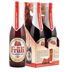 Fruli Strawberry 4 Pack 4 x 330ml