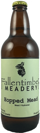 Fallentimber Meadery Hopped Mead 500ml
