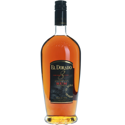 El Dorado 8Yr Old Rum 750ml