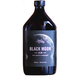 Legend Distilling Black Moon Smoked Rosemary Gin 500ml