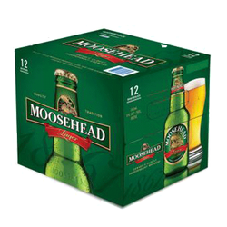 Moosehead Lager 12 x 341ml