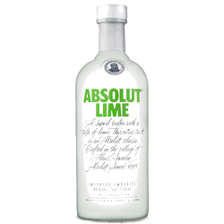 Absolut Lime Vodka 750ml