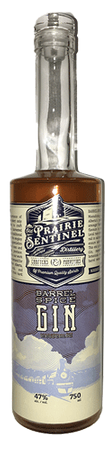 Prairie Sentinel Gin Barrel Spiced Distilled Gin 750 ml