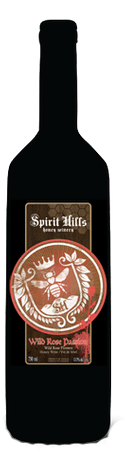 Spirit Hills Winery Wild Rose Passion Honey Wine 750ml