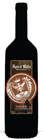 Spirit Hills Winery Saskwatch Honey Wine 750ml