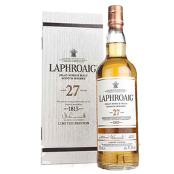 Laphroaig 27yr Old Single Malt Whisky 750ml