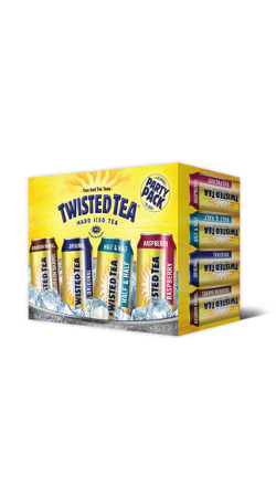 Twisted Tea Variety Hard Iced Tea 12 x 355ml