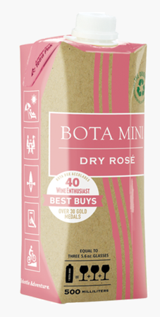 Bota Box Mini Dry Rose 500ml