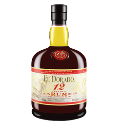 El Dorado 12Yr Old Rum 750ml
