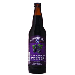Cannery Brewing Blackberry Porter 650ml