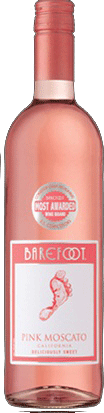 Barefoot Pink Moscato 750ml