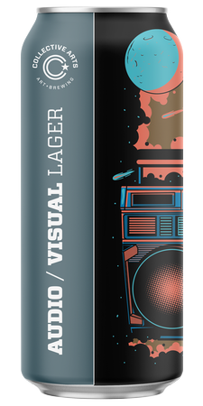 Collective Arts Audio/Visual Lager 473ml