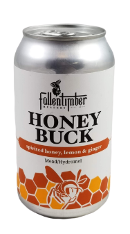 Fallentimber Meadery Honey Buck Mead 355ml