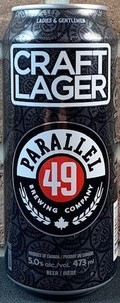 Parallel 49 Craft Lager 473ml can