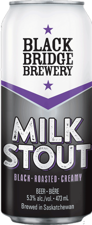 Black Bridge Milk Stout 473ml can