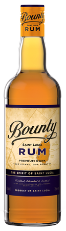 St Lucia Distilleries Dark Bounty Rum 750mL