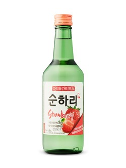 Chum Churum Strawberry Soju 360ml bottle