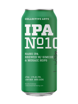 Collective Arts Brewing Ltd. Nano IPA No. 10 473ml