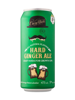 Crazy Uncle Ginger Ale 473ml