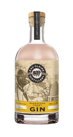 Eau Claire Distillery Saskatoon Honey Gin 750 ml