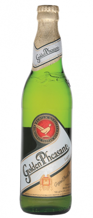 Golden Pheasant Pilsner 500ml btl
