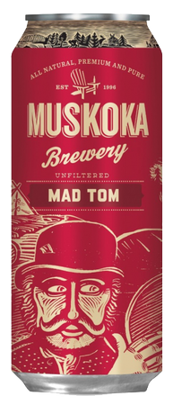 Muskoka Brewing Mad Tom IPA 473ml