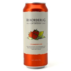 Rekorderlig Strawberry Lime Cider 500ml