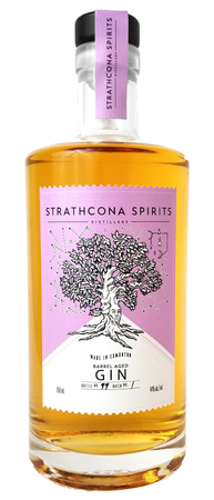Strathcona Spirits Distillery Barrel Aged Gin 750ml