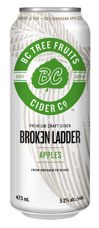 Broken Ladder Apple Cider 473ml can